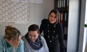 """Das """"Toway""""-Team (von links) mit Annette Peters, Christina Bernhard und Christina Geisler ist international gefragt. Foto: G. Baumgartl"""